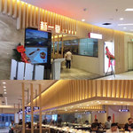 木紋鋁方通餐廳裝飾