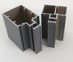 喷涂铝合金明框幕墙型材生产流程