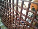 大型商場條形鋁格柵吊頂價格