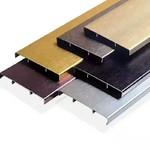 铝合金橱柜防水防潮踢脚线铝材