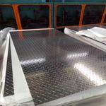 通遼2.7毫米3003防銹花紋花紋鋁板多少錢一平米