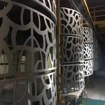 雕花铝板隔断铝屏风