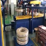 塑膠盤管自動包裝機