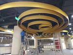 來圖加工弧形鋁單板天花吊頂材料