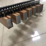 凹槽木纹铝方通吊顶厂家