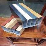 供應鋁型材方管 型材鋁方通廠家