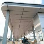 演艺中心过道铝板供应商 铝迪建材