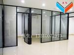 揭阳办公室双层玻璃内置百叶窗隔断