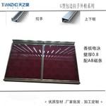 厂家直销晶钢门橱柜门铝材
