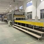 国森牌铝蜂窝板压机生产线