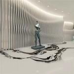 室内墙面铝格栅 型材铝方管幕墙