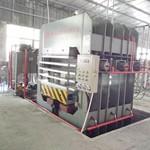 SBY750竹砧板热压机设备