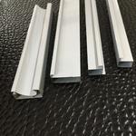 铝合金橱柜晶钢门 晶钢门包边铝材