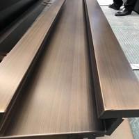 天津铝型材仿铜拉丝喷涂厂家
