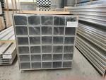 规格多样方管生产 铝方通
