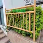 铝合金竹圆管篱笆围栏制作厂家