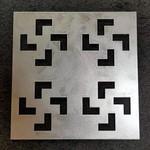 铝板表面镂空雕刻制作厂家