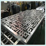 外框50x50铝方管焊接铝窗花