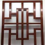 重庆木纹铝花格厂家