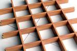 木纹铝格栅厂家定制
