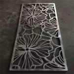 柳叶镂空铝单板幕墙-叶树形铝板