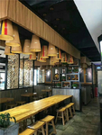 廣東鋁窗花/餐廳隔斷鋁屏風定制
