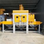 铝材表面专用喷砂处理 自动喷砂机