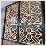 氟碳喷漆油_铝合金窗花_木纹热转印