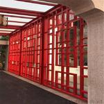 廣州鋁建材裝飾/木紋鋁合金窗花格