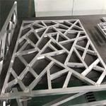 鋁方管焊接定制街道木紋鋁制品花格