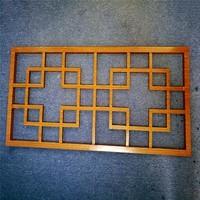 金屬鋁合金氟碳木紋鋁合金窗花格