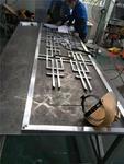 焊接铝合金窗花,铝材焊接技巧