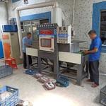 中山铝件氧化前处理输送自动喷砂机