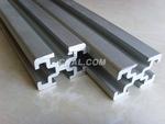 工業鋁型材三酸拋光彩色氧化鋁型材