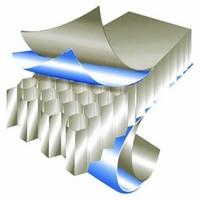 公司个性化大理石纹铝蜂窝板