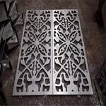 高校氟碳定制图案铝单板