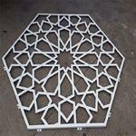 大埔墟復古木紋定制吊頂幕墻鋁單板