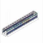 护罩铝塑板透明PVC板工作台围栏