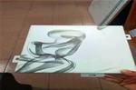地铁站装饰3D艺术彩绘铝单板价格