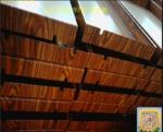 广东珠海餐厅吊顶装饰造型铝方通