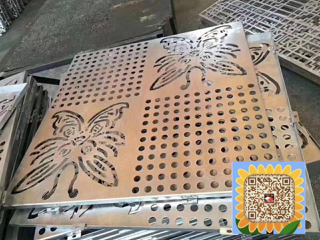 宁德不规则艺术镂空雕刻铝单板