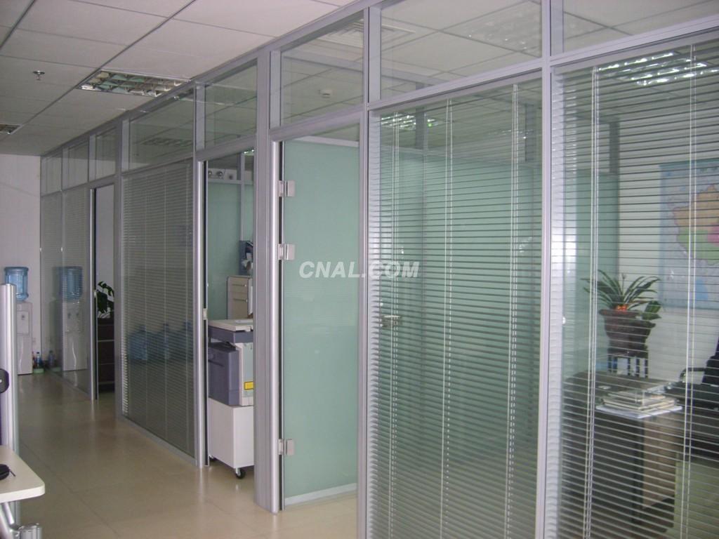 玻璃隔断成品墙 铝型材