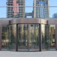 酒店豪華兩翼旋轉門加工定做鋁型材