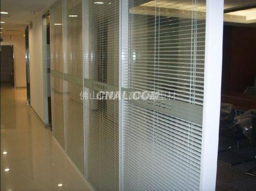 专注生产销售铝合金办公隔断,隔断墙