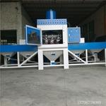 大量鐵板除銹專用輸送自動噴砂機