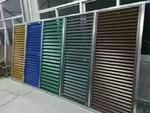氟碳喷涂铝合金百叶窗型材生产销售