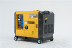 四保护5kw静音柴油发电机