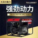 大澤15kw開架式汽油發電機型號