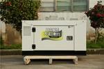 手推式12千瓦靜音柴油發電機
