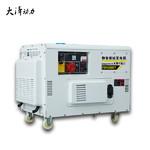 低噪音10千瓦水冷靜音柴油發電機
